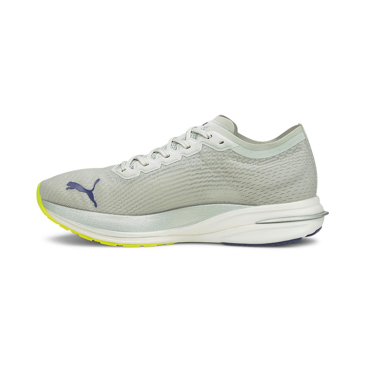 Men's Puma Deviate Nitro Running Shoe - Color: Gray Violet - Size: 7 - Width: Regular, Gray Violet, large, image 2