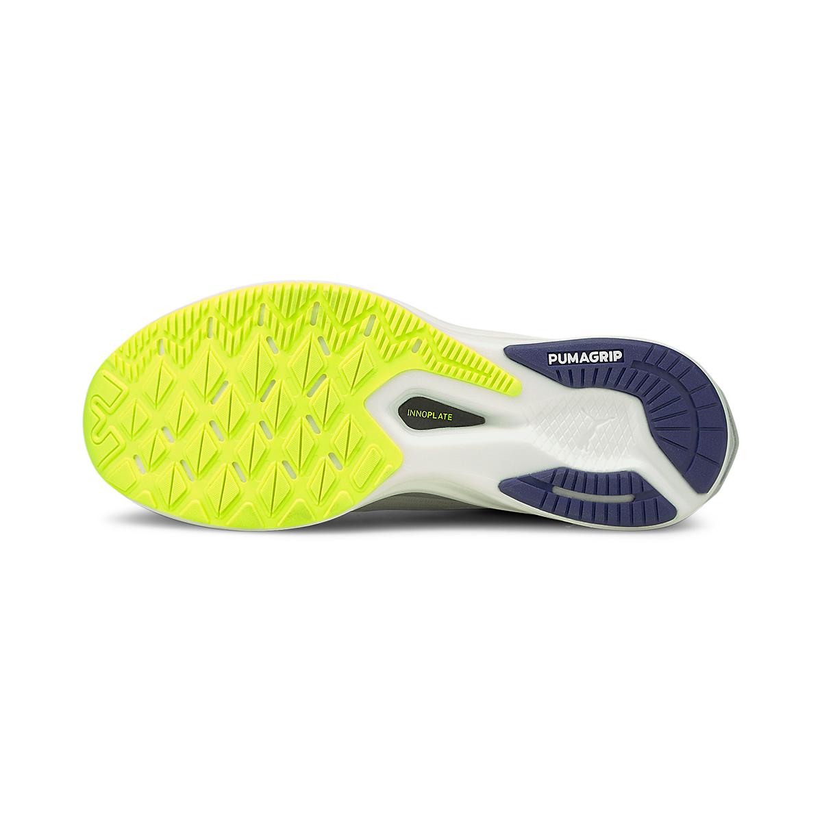 Men's Puma Deviate Nitro Running Shoe - Color: Gray Violet - Size: 7 - Width: Regular, Gray Violet, large, image 3