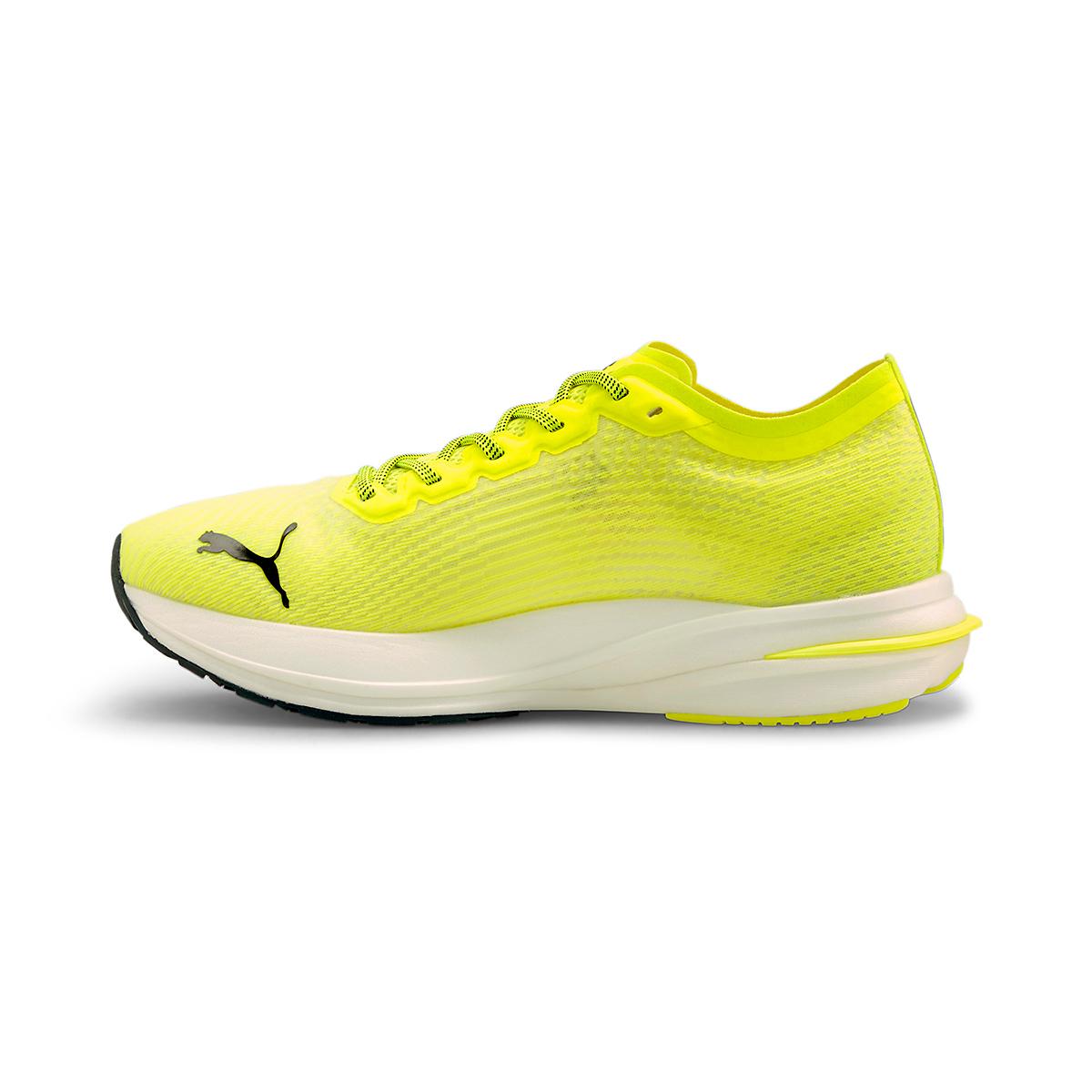 Men's Puma Deviate Nitro Running Shoe - Color: Yellow Alert - Size: 7 - Width: Regular, Yellow Alert, large, image 2