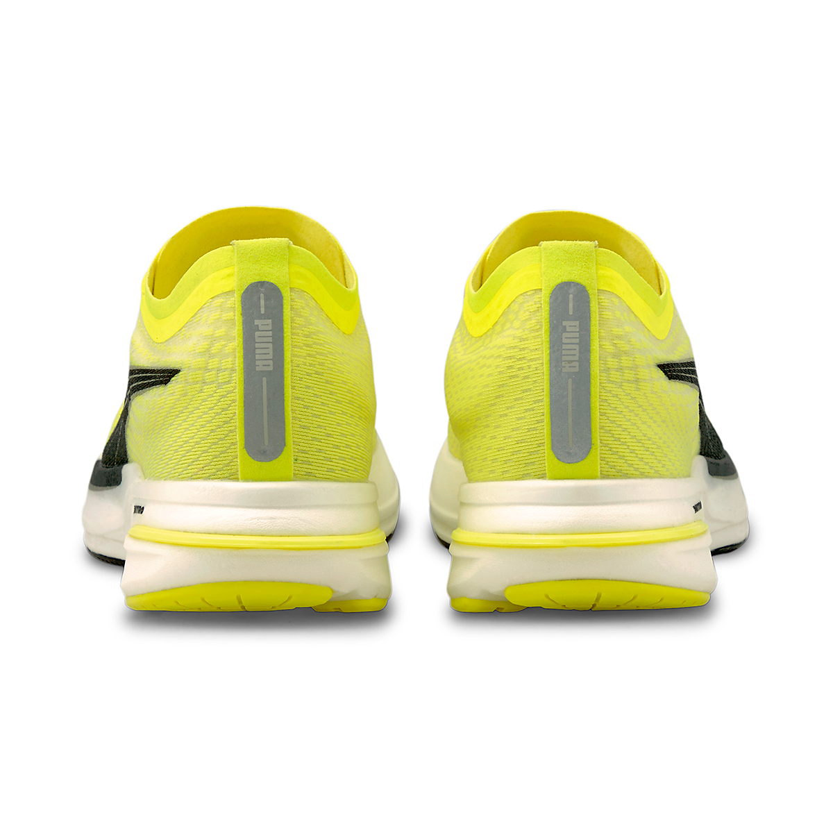 Men's Puma Deviate Nitro Running Shoe - Color: Yellow Alert - Size: 7 - Width: Regular, Yellow Alert, large, image 4