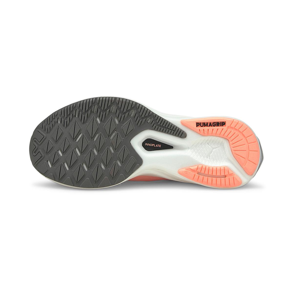 Women's Puma Deviate Nitro Running Shoe - Color: Elektro Peach - Size: 5.5 - Width: Regular, Elektro Peach, large, image 3