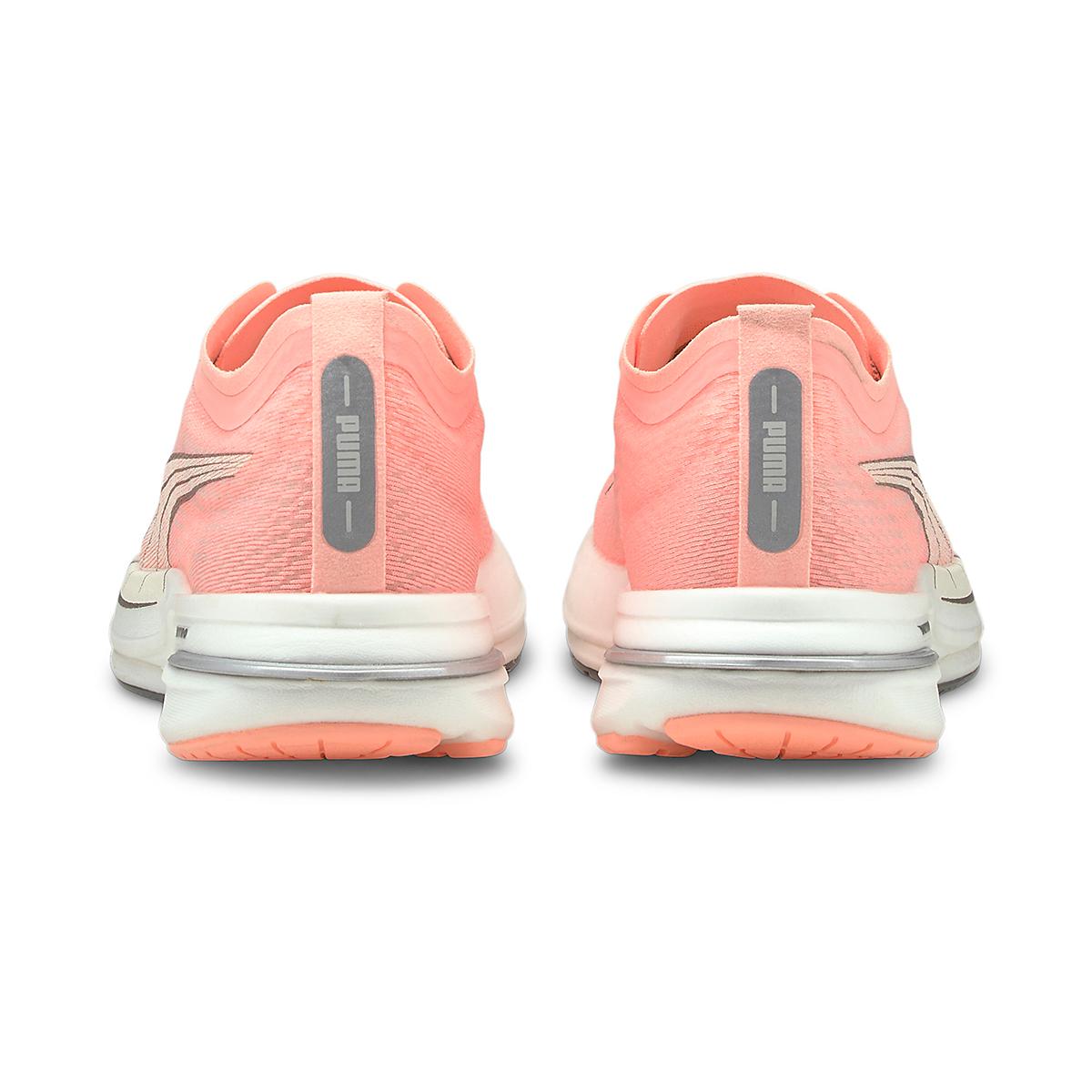 Women's Puma Deviate Nitro Running Shoe - Color: Elektro Peach - Size: 5.5 - Width: Regular, Elektro Peach, large, image 4