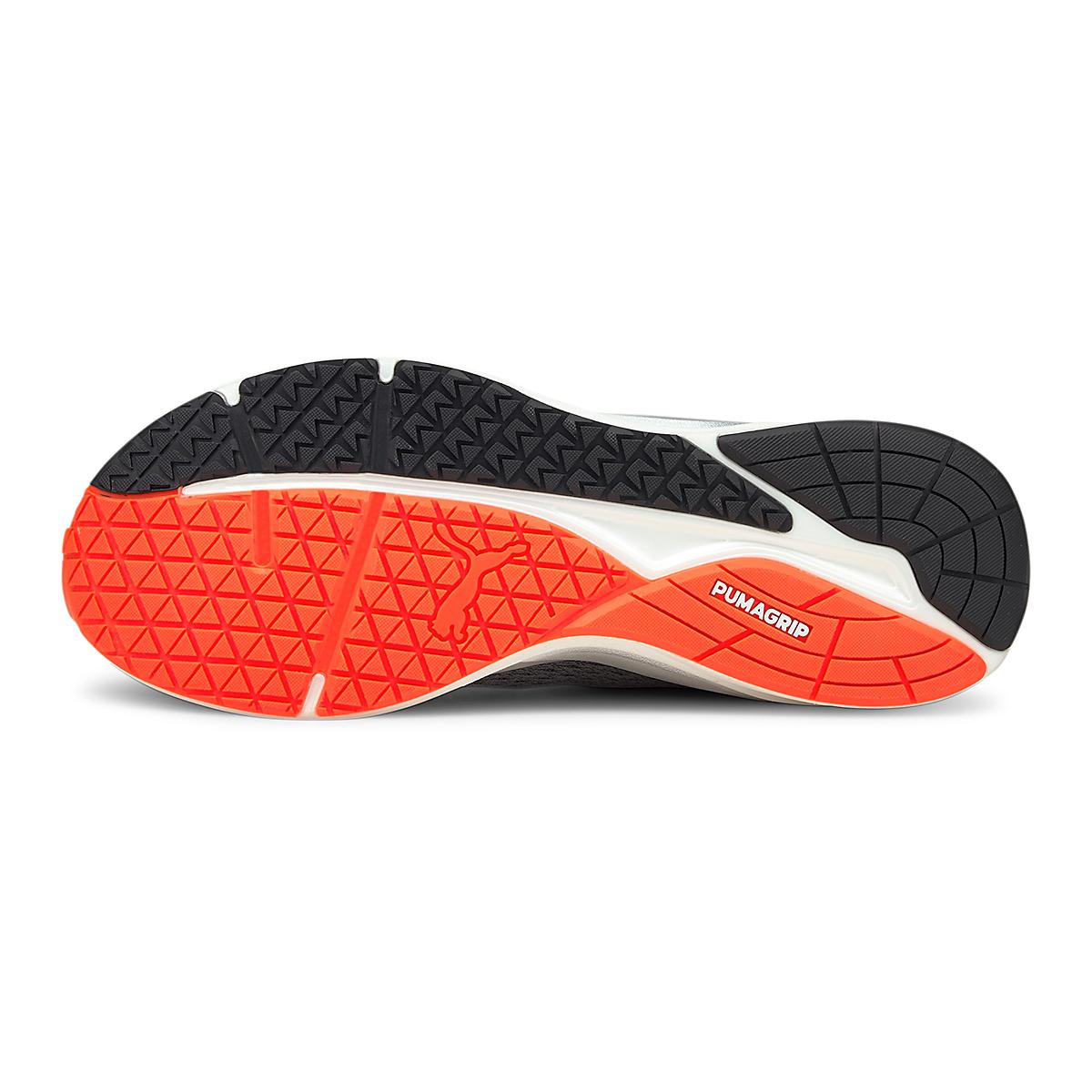 Men's Puma Eternity Nitro Running Shoe - Color: Castlerock / Puma White / Lava Blast - Size: 7 - Width: Regular, Castlerock / Puma White / Lava Blast, large, image 4