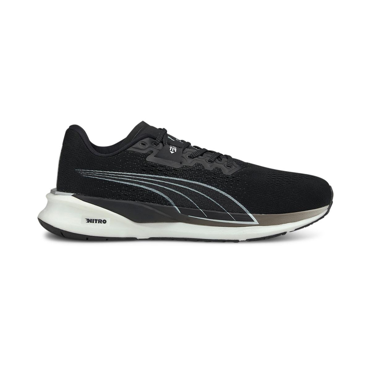 Men's Puma Eternity Nitro Running Shoe - Color: Puma Black - Size: 7 - Width: Regular, Puma Black, large, image 1
