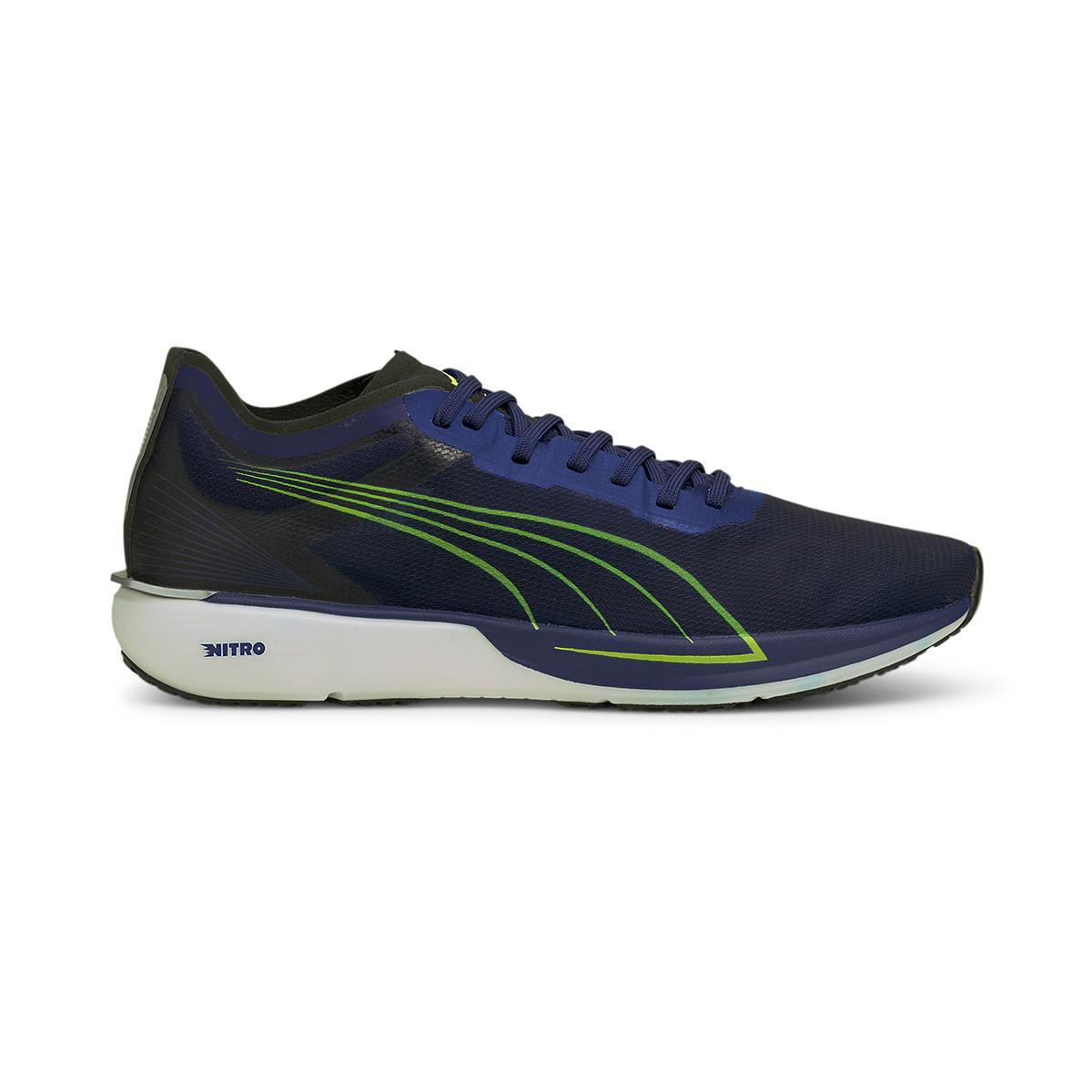 Men's Puma Liberate Nitro Running Shoe - Color: Elektro Blue - Size: 7 - Width: Regular, Elektro Blue, large, image 1