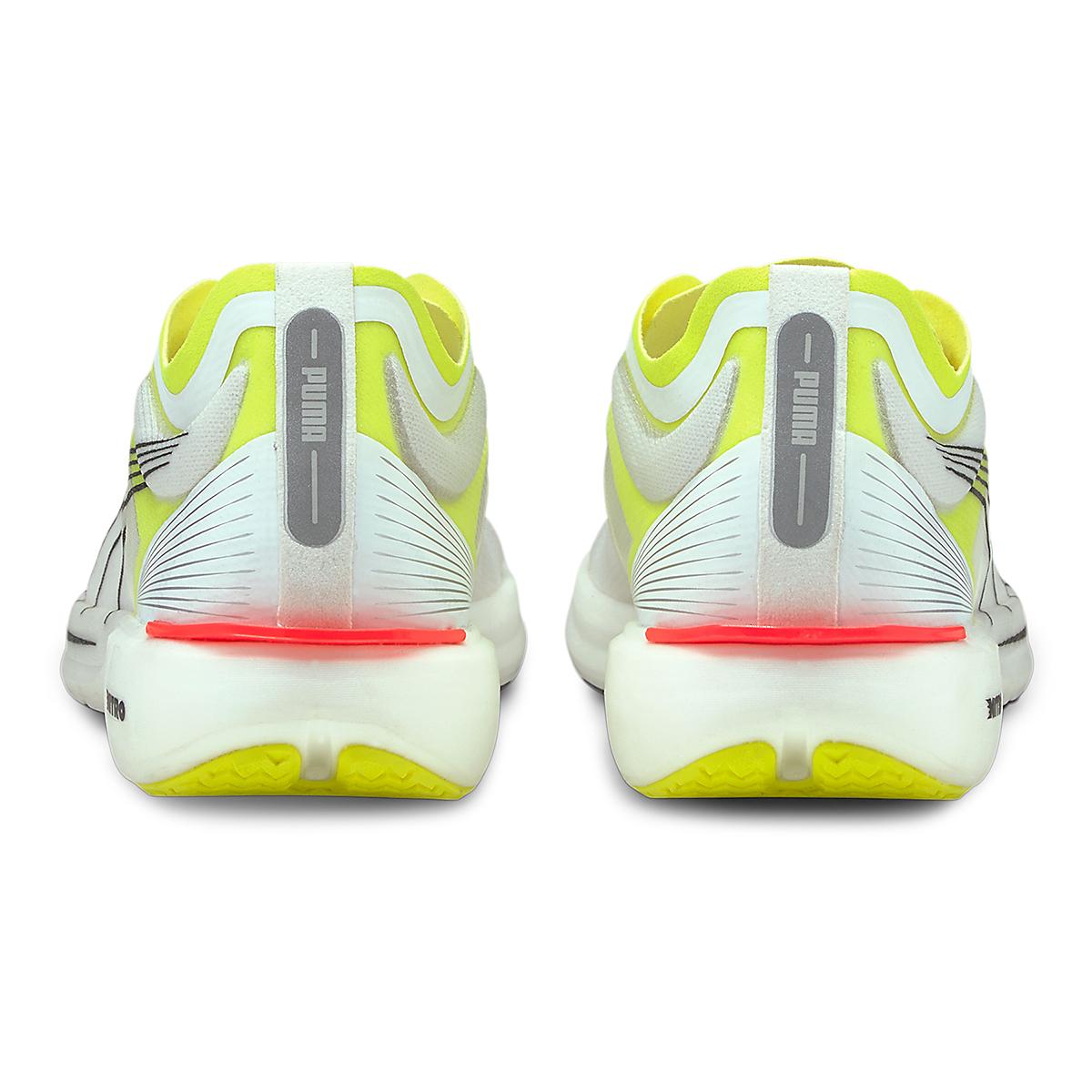 Men's Puma Liberate Nitro Running Shoe - Color: Puma White-Yellow Alert - Size: 7 - Width: Regular, Puma White-Yellow Alert, large, image 3