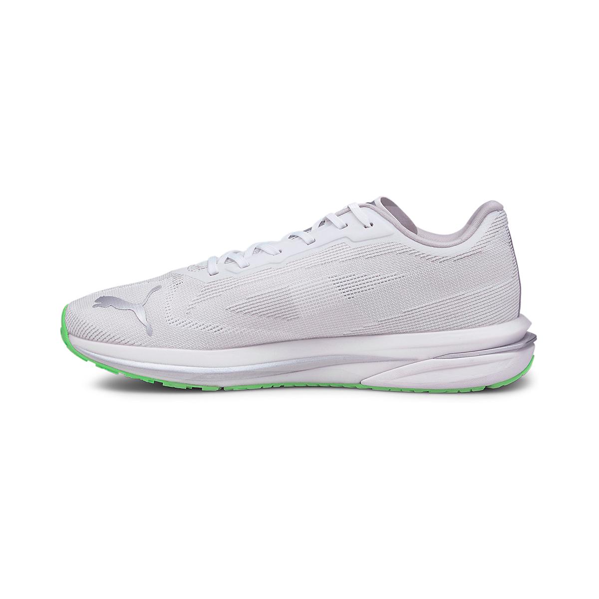 Men's Puma Velocity Nitro COOLadapt Running Shoe - Color: Puma White - Size: 7 - Width: Regular, Puma White, large, image 2