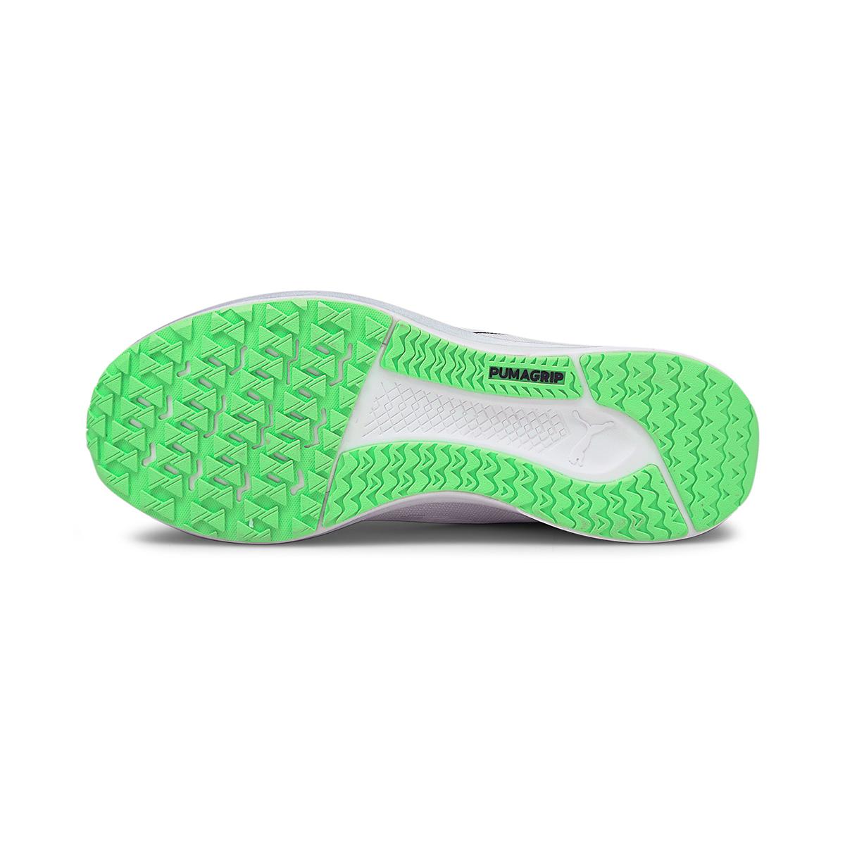 Men's Puma Velocity Nitro COOLadapt Running Shoe - Color: Puma White - Size: 7 - Width: Regular, Puma White, large, image 3