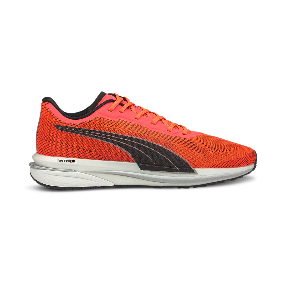 Women's Puma Velocity Nitro Running Shoe - Color: Lava Blast - Size: 5.5 - Width: Regular, Lava Blast, large, image 1