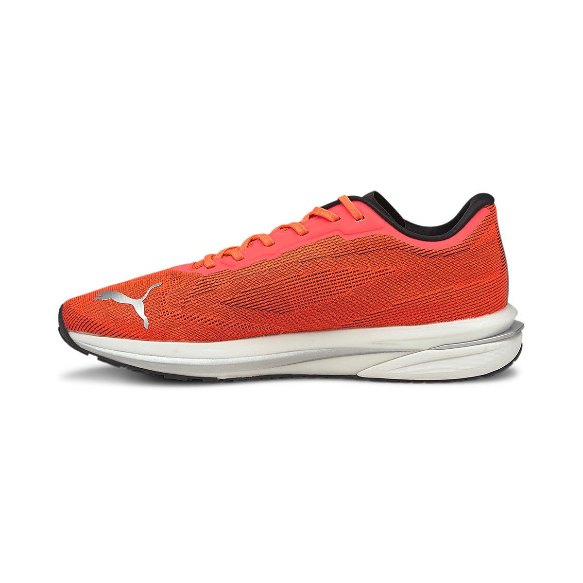 Women's Puma Velocity Nitro Running Shoe - Color: Lava Blast - Size: 5.5 - Width: Regular, Lava Blast, large, image 2
