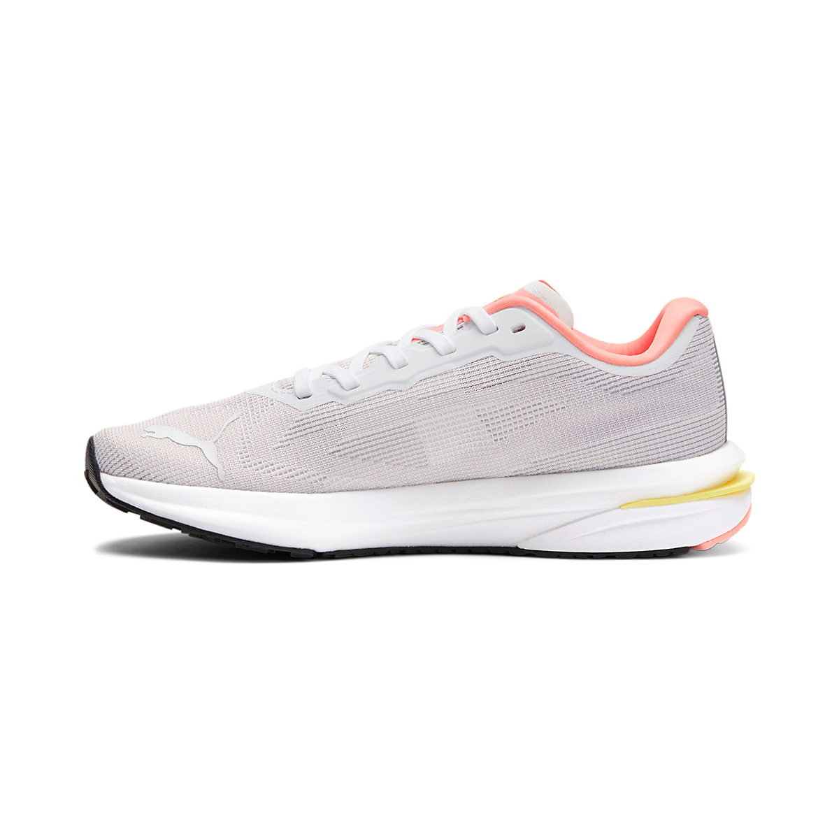 Women's Puma Velocity Nitro Running Shoe - Color: Puma White - Size: 5.5 - Width: Regular, Puma White, large, image 2