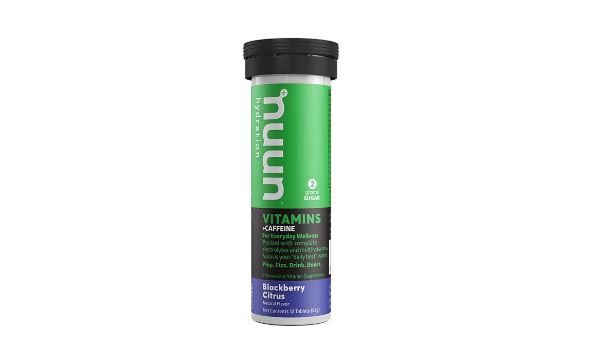 Nuun Vitamins Drink Tablets - Flavor: Blackberry Citrus + Caffeine - Size: Box of 8, Blackberry Citrus + Caffeine, large, image 1