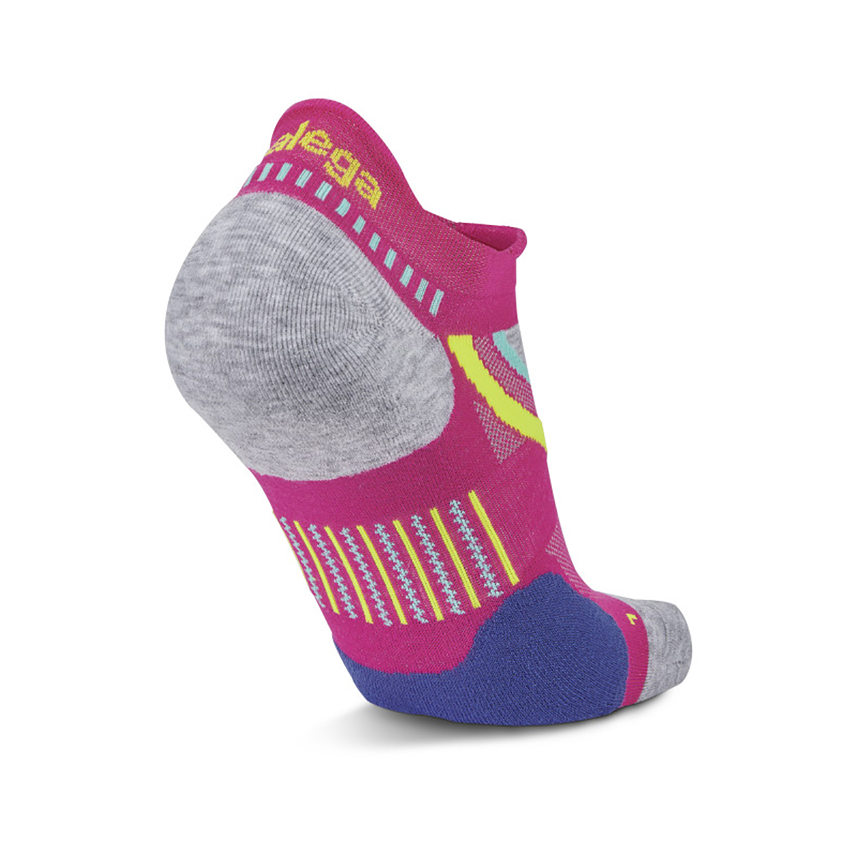 Balega UltraGlide Running Socks - Color: Electric Pink/ Midgrey - Size: S, Electric Pink/ Midgrey, large, image 3