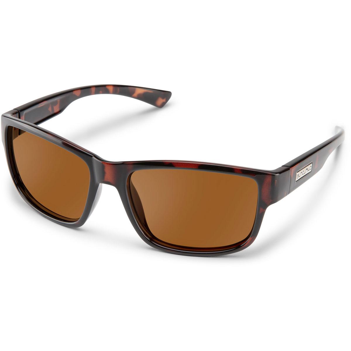 Suncloud Suspect Polarized Sunglasses - Color: Havana - Brown Lens, Havana - Brown Lens, large, image 1