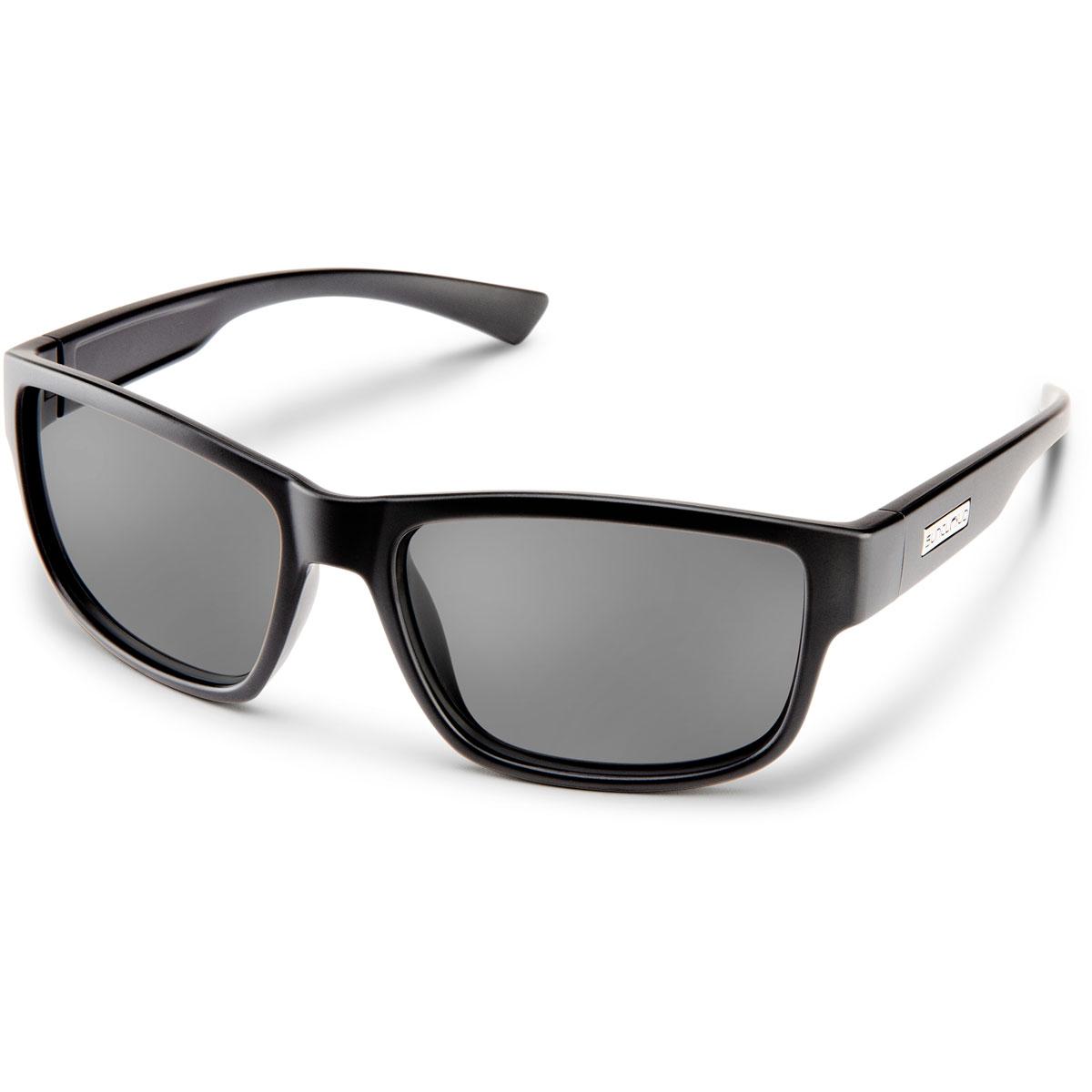 Suncloud Suspect Polarized Sunglasses - Color: Black - Grey Lens, Black - Grey Lens, large, image 1