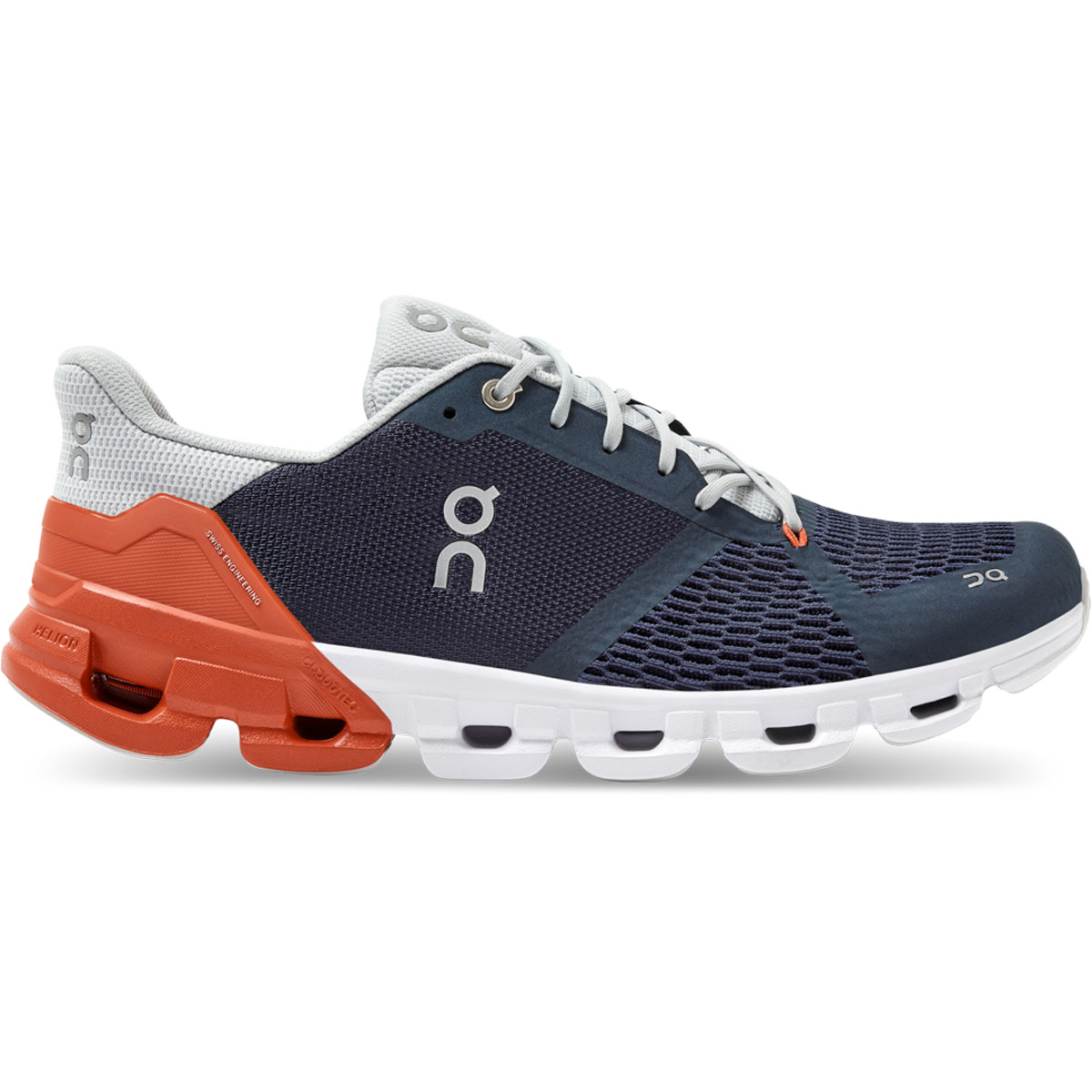 Men's On Cloudflyer 2.0 Running Shoe - Color: Midnight/Rust - Size: 7 - Width: Regular, Midnight/Rust, large, image 1