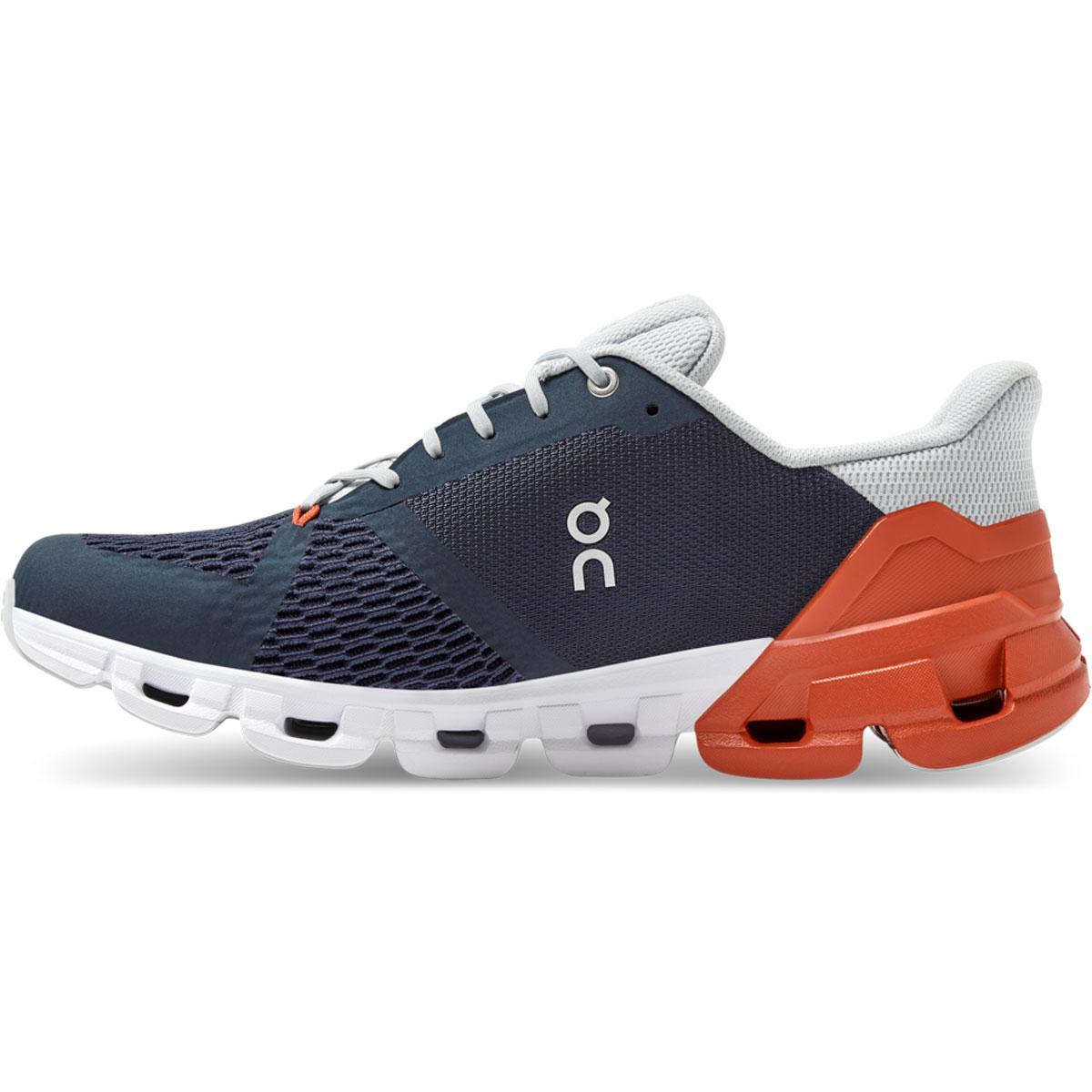 Men's On Cloudflyer 2.0 Running Shoe - Color: Midnight/Rust - Size: 7 - Width: Regular, Midnight/Rust, large, image 2