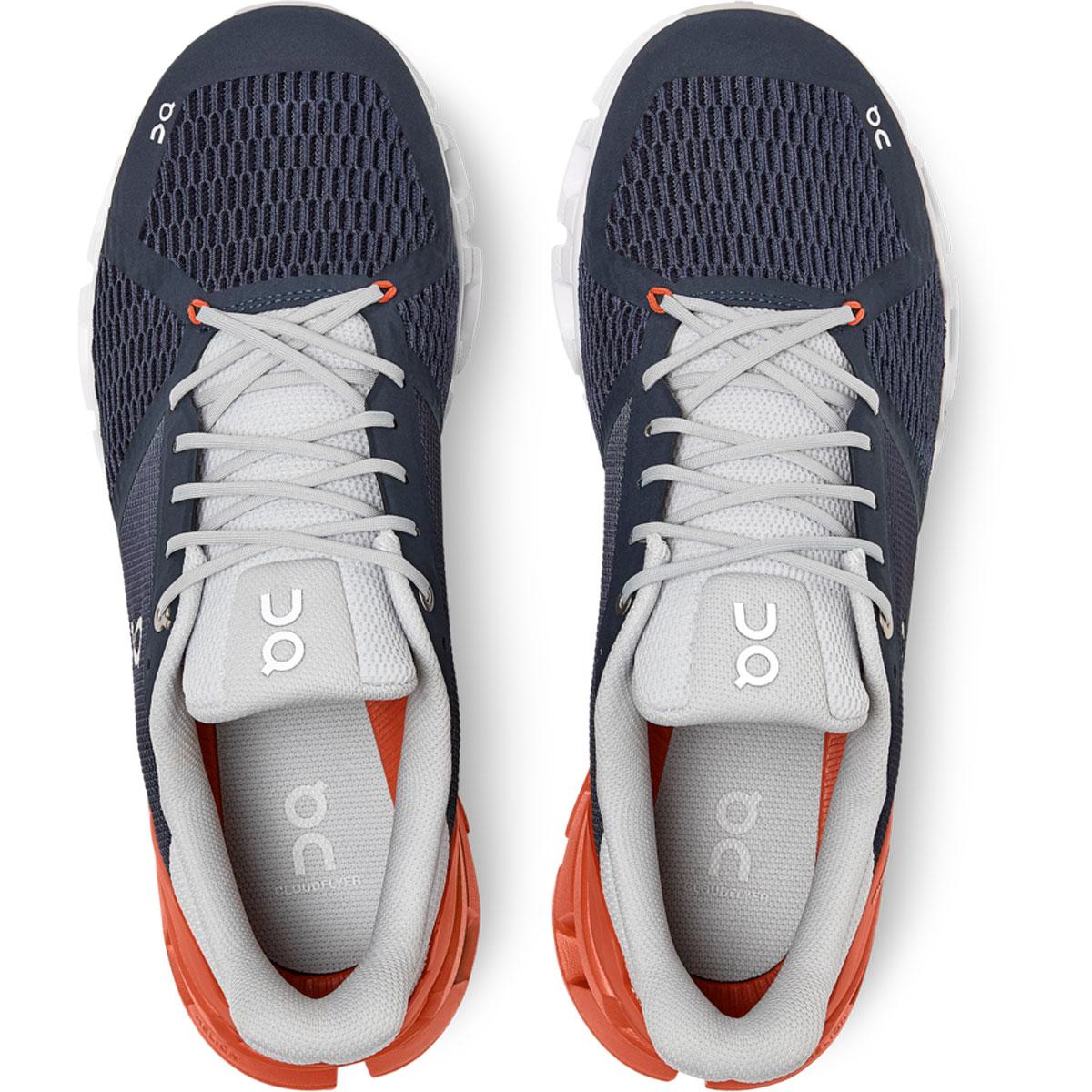 Men's On Cloudflyer 2.0 Running Shoe - Color: Midnight/Rust - Size: 7 - Width: Regular, Midnight/Rust, large, image 3