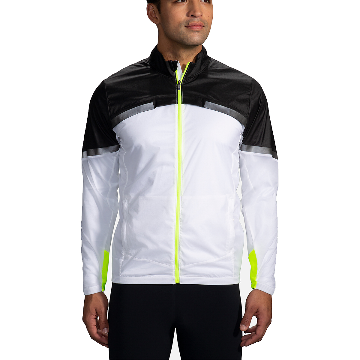 Men's Brooks Run Visible Carbonite Jacket  - Color: Luminosity - Size: S, Luminosity, large, image 1