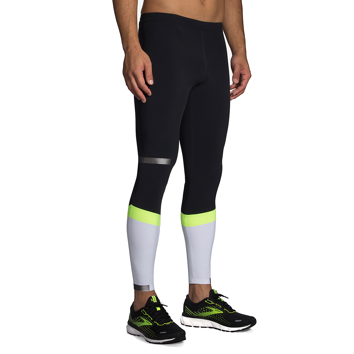 Men's Brooks Run Visible Carbonite Tight  - Color: Luminosity - Size: S, Luminosity, large, image 1