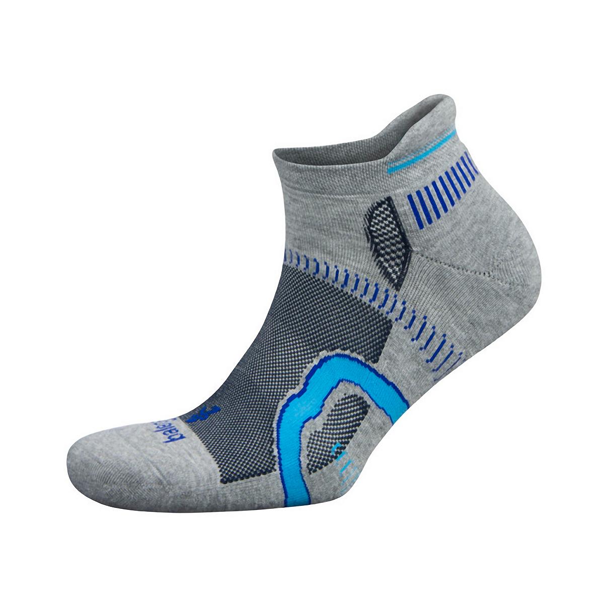 Balega Hidden Contour Socks - Color: Mid Grey/Ink Size: XL, Mid Grey/Ink, large, image 1