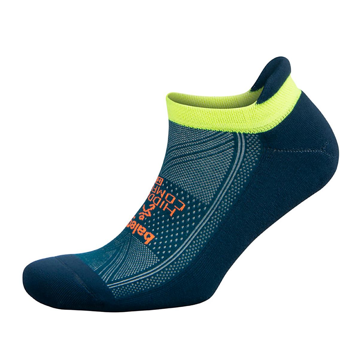 Unisex Balega Hidden Comfort No Show Socks - Color: Legion Blue/Teal Size: S, Blue, large, image 1