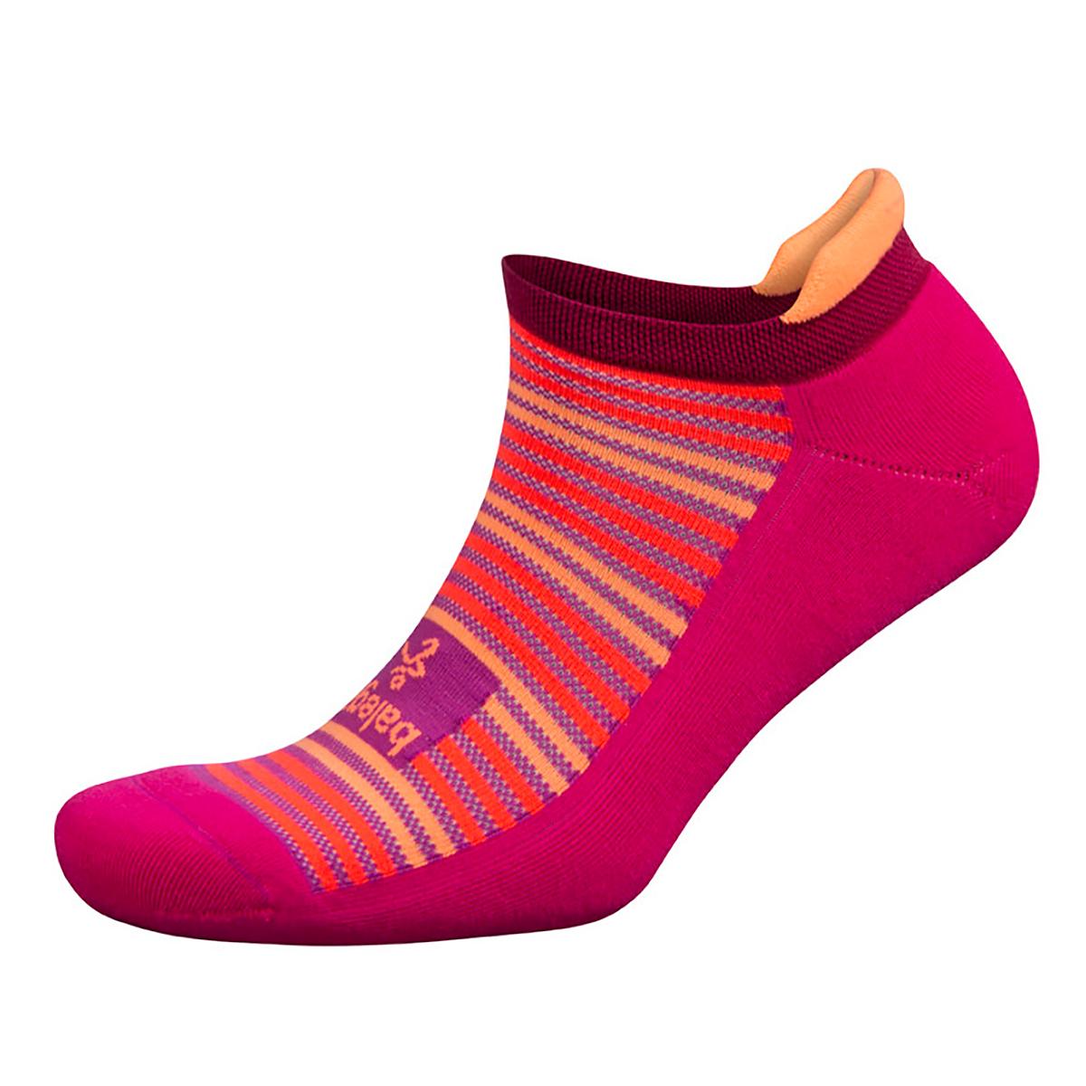 Balega Limited Edition Hidden Comfort - Color: Electric Pink Size: S, Red, large, image 1