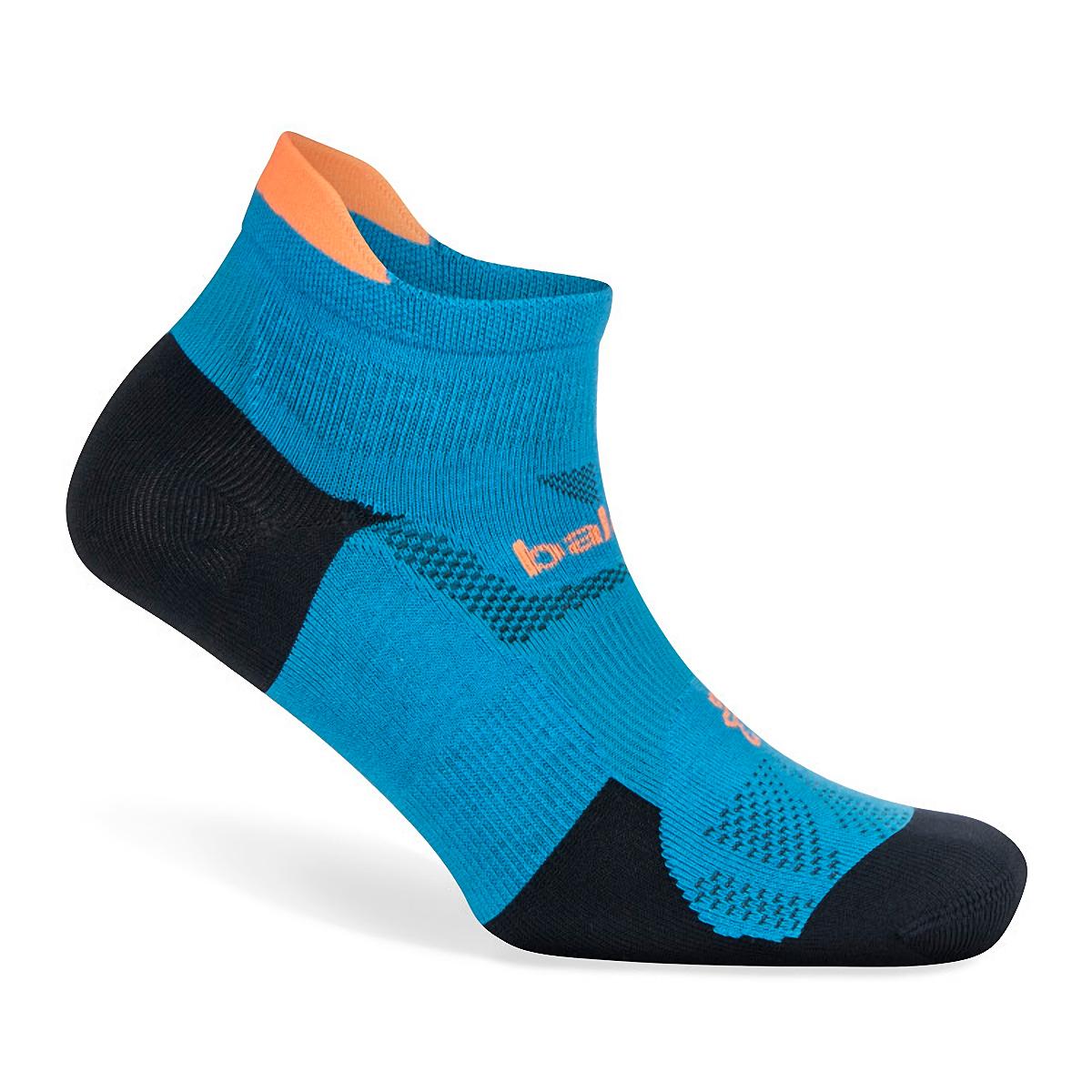 Balega Hidden Dry No Show Socks - Color: Bright Turquoise/Navy - Size: S, Bright Turquoise/Navy, large, image 2