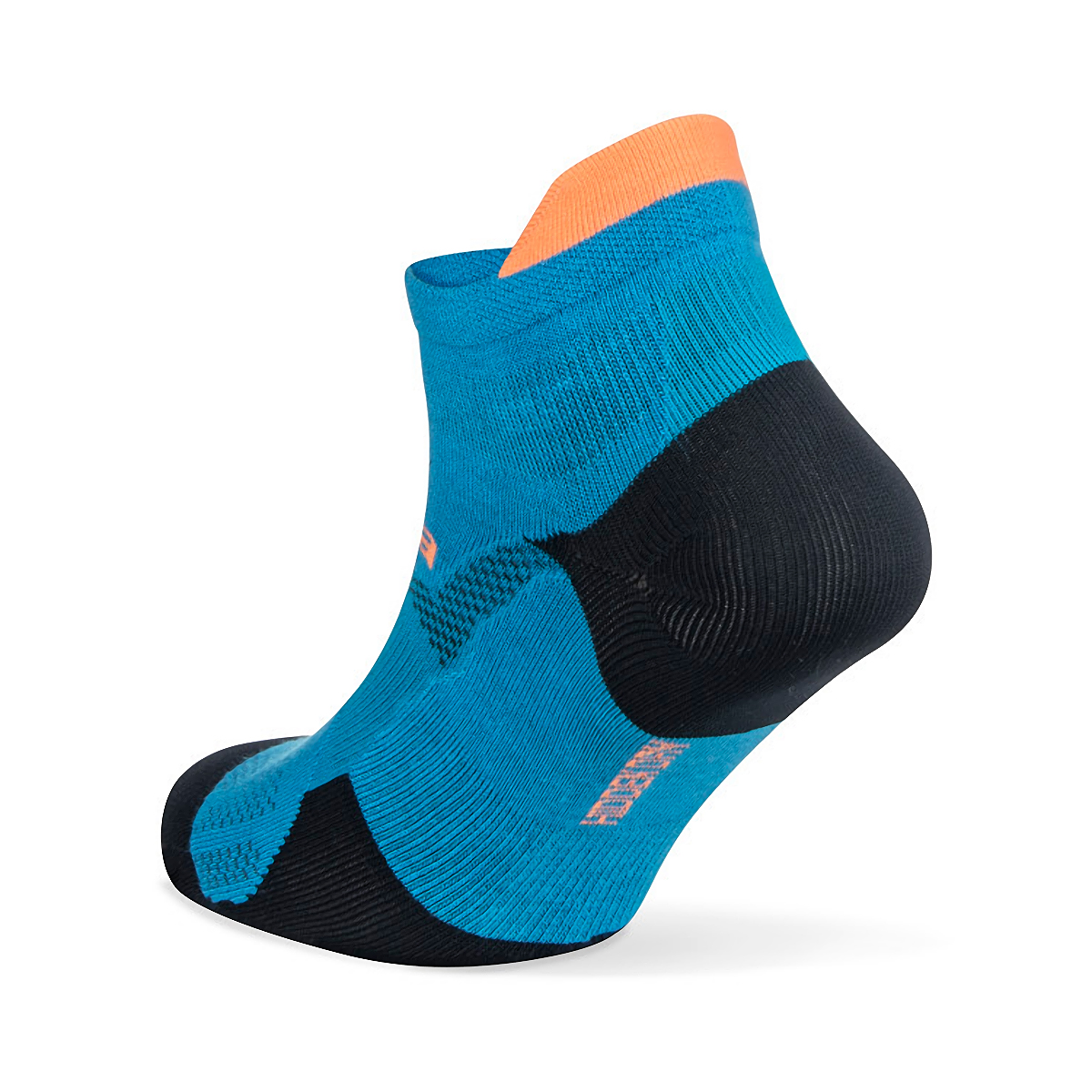 Balega Hidden Dry No Show Socks - Color: Bright Turquoise/Navy - Size: S, Bright Turquoise/Navy, large, image 3