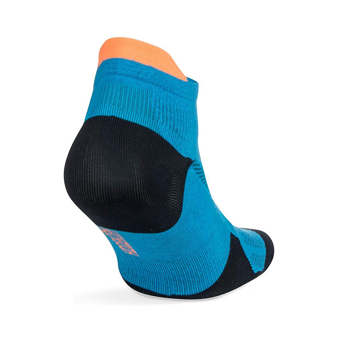 Balega Hidden Dry No Show Socks - Color: Bright Turquoise/Navy - Size: S, Bright Turquoise/Navy, large, image 4