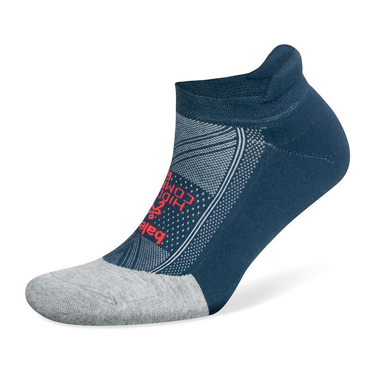 Balega Hidden Comfort Socks - Color: Midgrey/Legion Blue - Size: S, Midgrey/Legion Blue, large, image 1