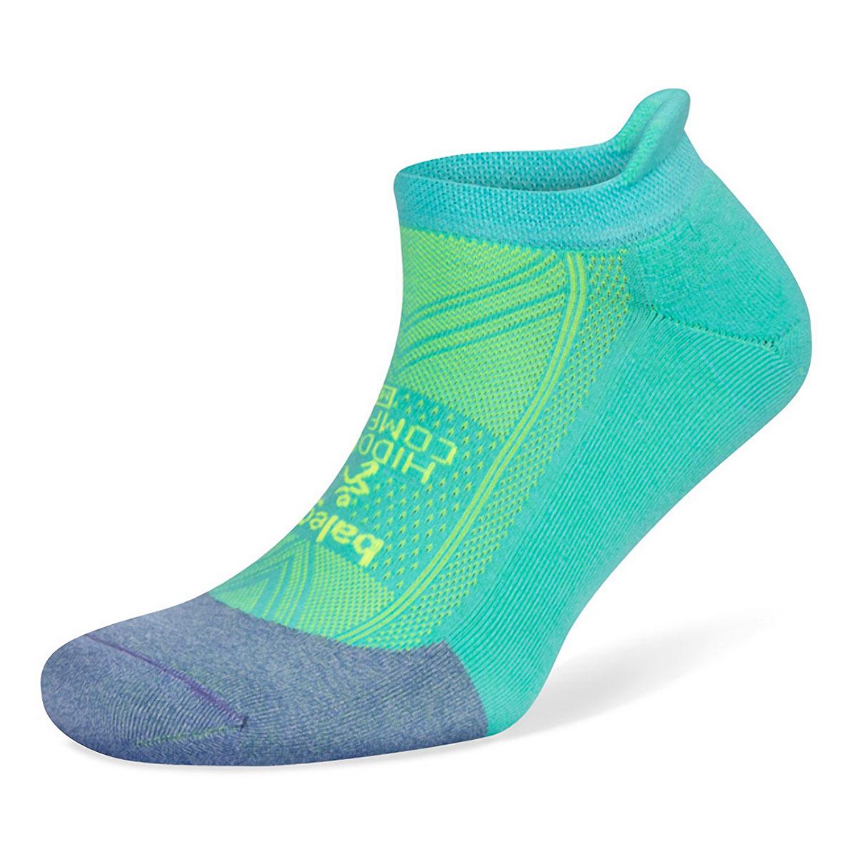 Balega Hidden Comfort Socks - Color: Lilac/Neon Aqua - Size: S, Lilac/Neon Aqua, large, image 1