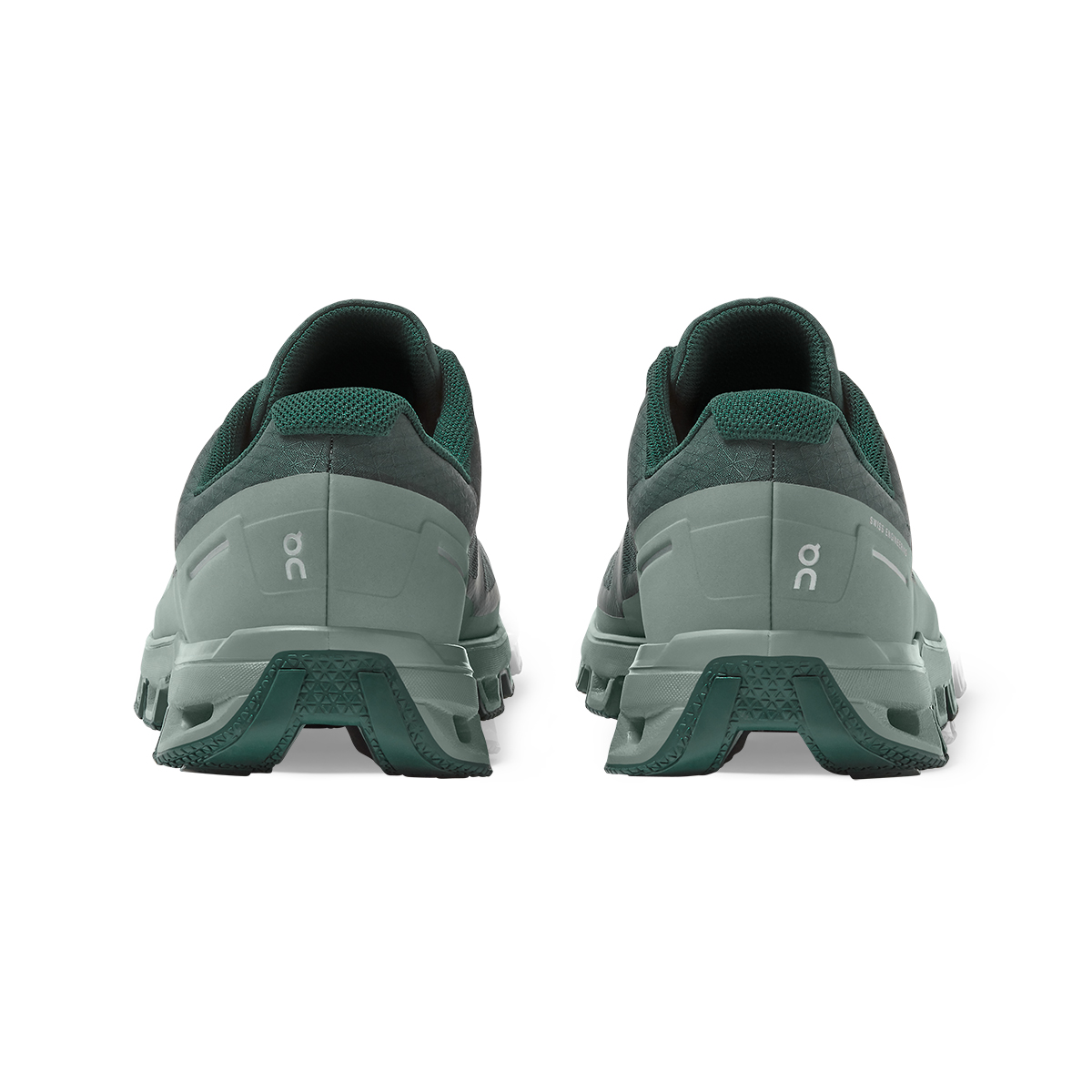 Women's On Cloudventure Waterproof Trail Running Shoe - Color: Juniper/Sea - Size: 5 - Width: Regular, Juniper/Sea, large, image 3