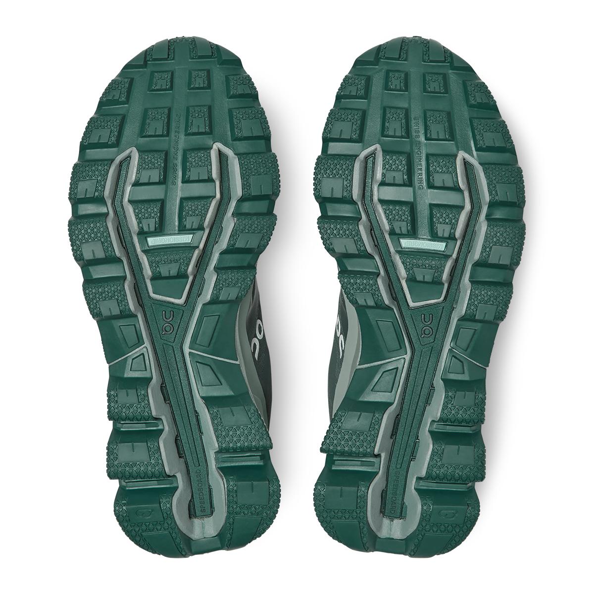 Women's On Cloudventure Waterproof Trail Running Shoe - Color: Juniper/Sea - Size: 5 - Width: Regular, Juniper/Sea, large, image 4