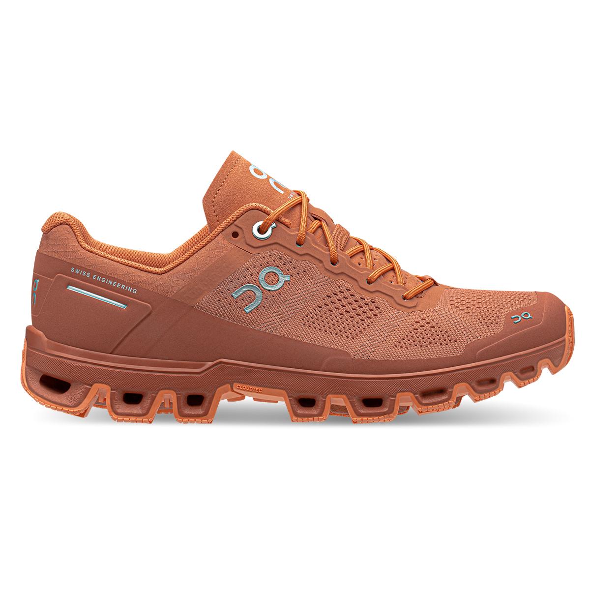 Women's On Cloudventure Trail Running Shoe - Color: Sandstone/Orang - Size: 5 - Width: Regular, Sandstone/Orang, large, image 1