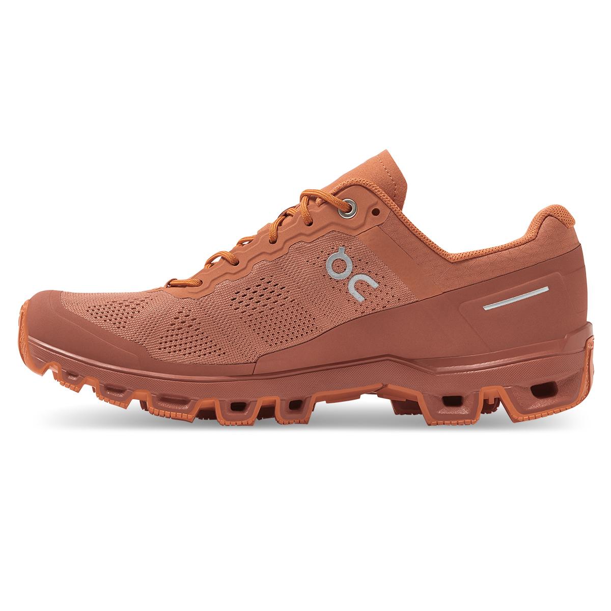 Women's On Cloudventure Trail Running Shoe - Color: Sandstone/Orang - Size: 5 - Width: Regular, Sandstone/Orang, large, image 2