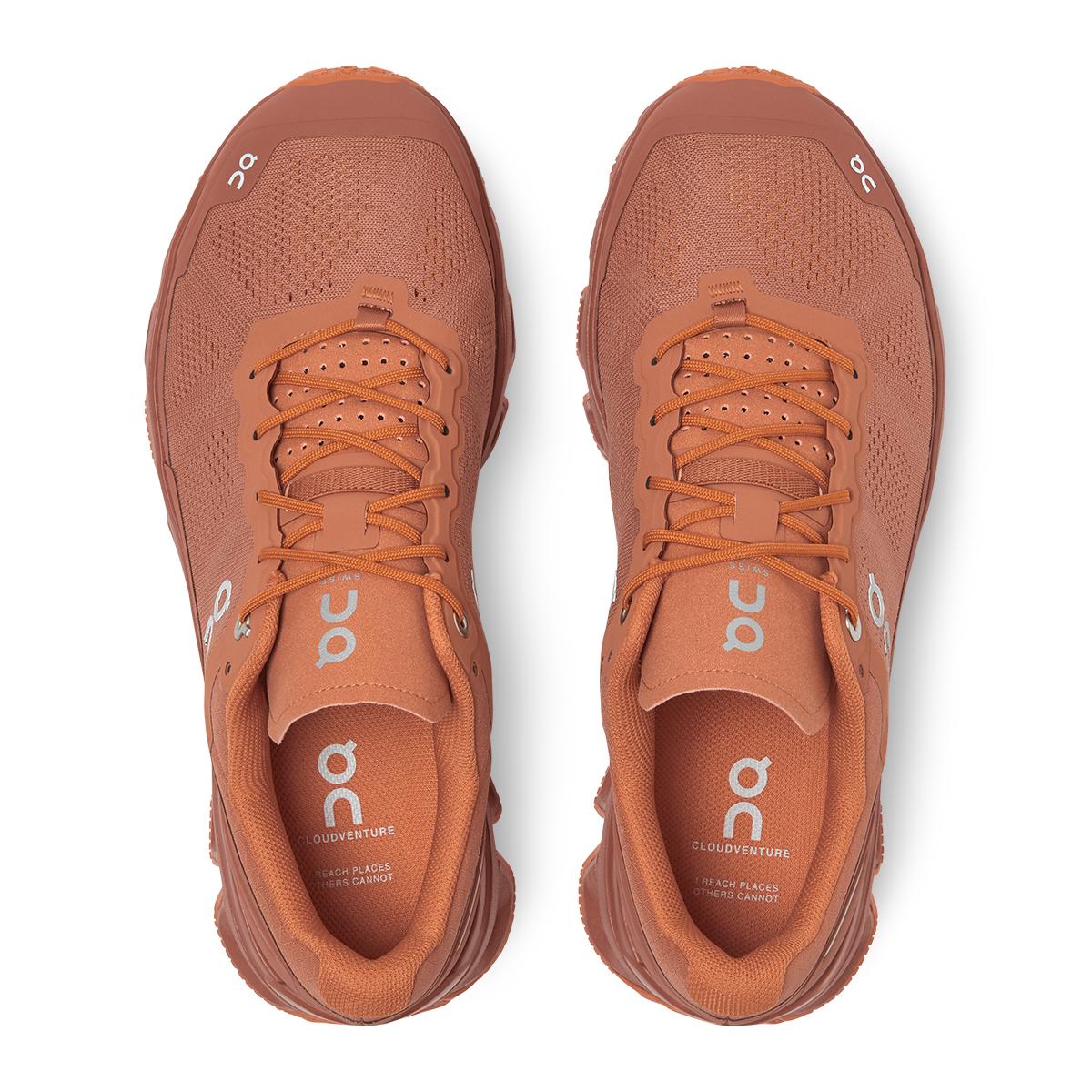Women's On Cloudventure Trail Running Shoe - Color: Sandstone/Orang - Size: 5 - Width: Regular, Sandstone/Orang, large, image 3