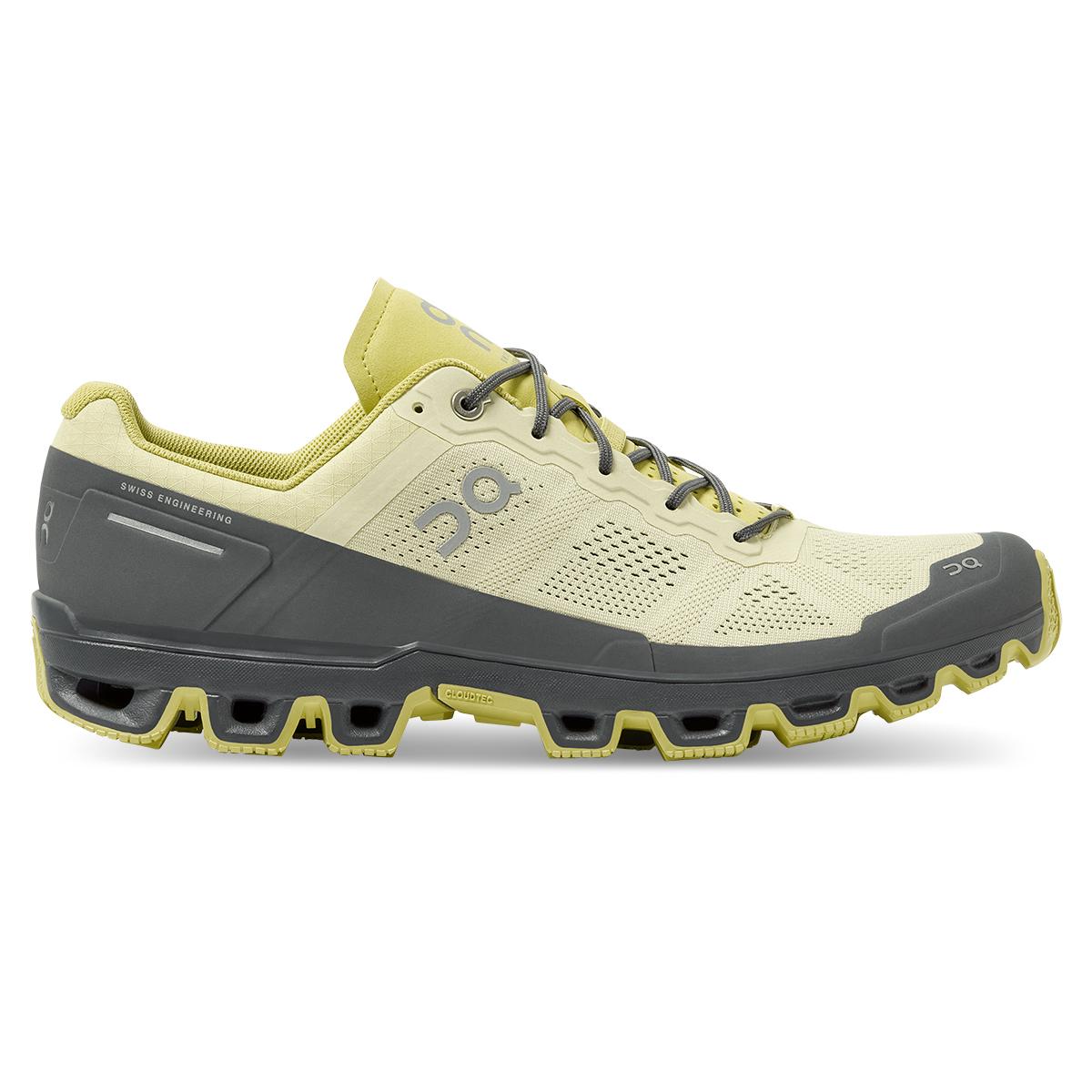 Men's On Cloudventure Running Shoe - Color: Hay/Rock - Size: 7 - Width: Regular, Hay/Rock, large, image 1