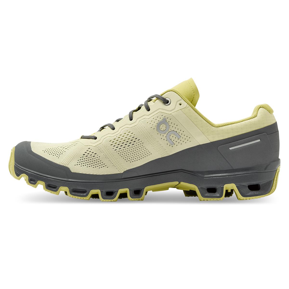Men's On Cloudventure Running Shoe - Color: Hay/Rock - Size: 7 - Width: Regular, Hay/Rock, large, image 2