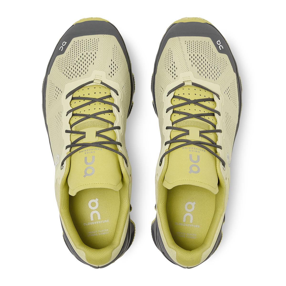 Men's On Cloudventure Running Shoe - Color: Hay/Rock - Size: 7 - Width: Regular, Hay/Rock, large, image 3