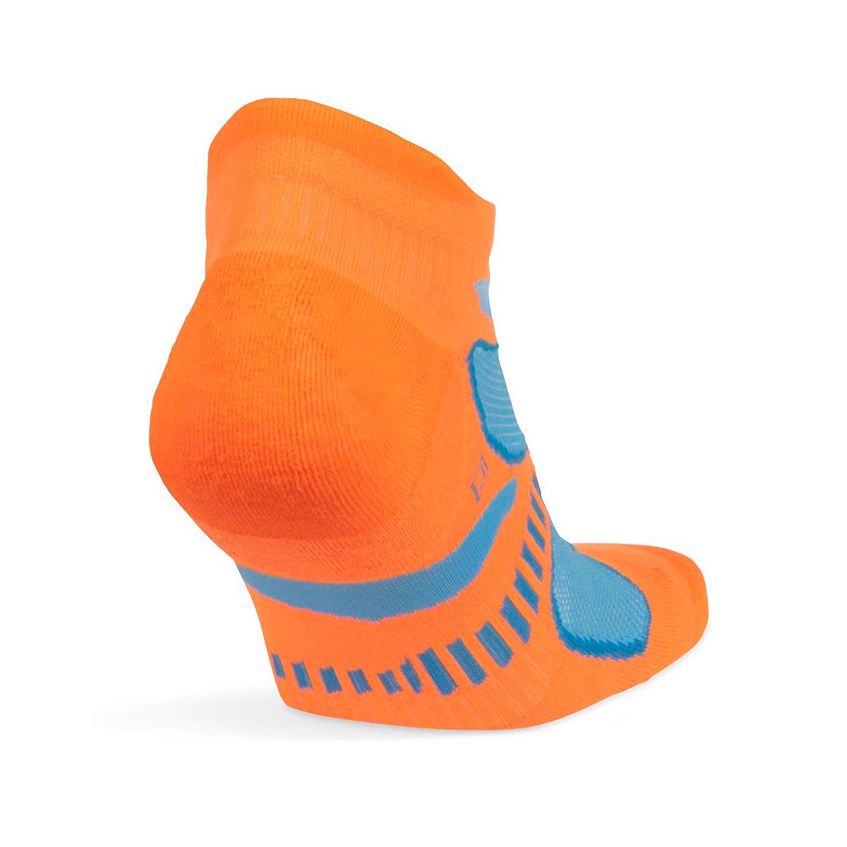 Balega Ultra Light No Show Tab Socks - Color: Flu Orange - Size: S, Flu Orange, large, image 1