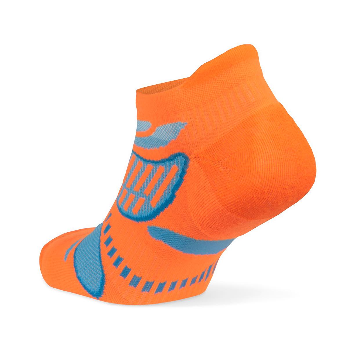 Balega Ultra Light No Show Tab Socks - Color: Flu Orange - Size: S, Flu Orange, large, image 2