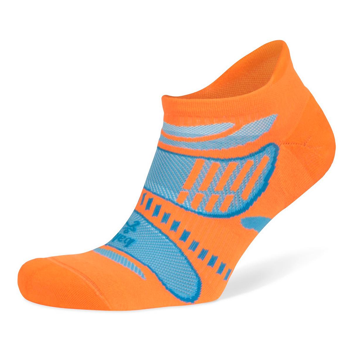 Balega Ultra Light No Show Tab Socks - Color: Flu Orange - Size: S, Flu Orange, large, image 3