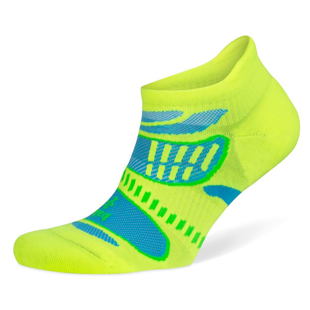 Balega Ultra Light No Show Tab Socks - Color: Neon Lime - Size: S, Neon Lime, large, image 1