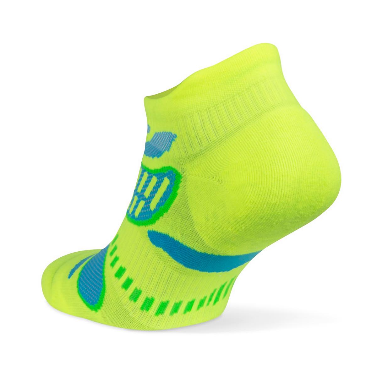 Balega Ultra Light No Show Tab Socks - Color: Neon Lime - Size: S, Neon Lime, large, image 2