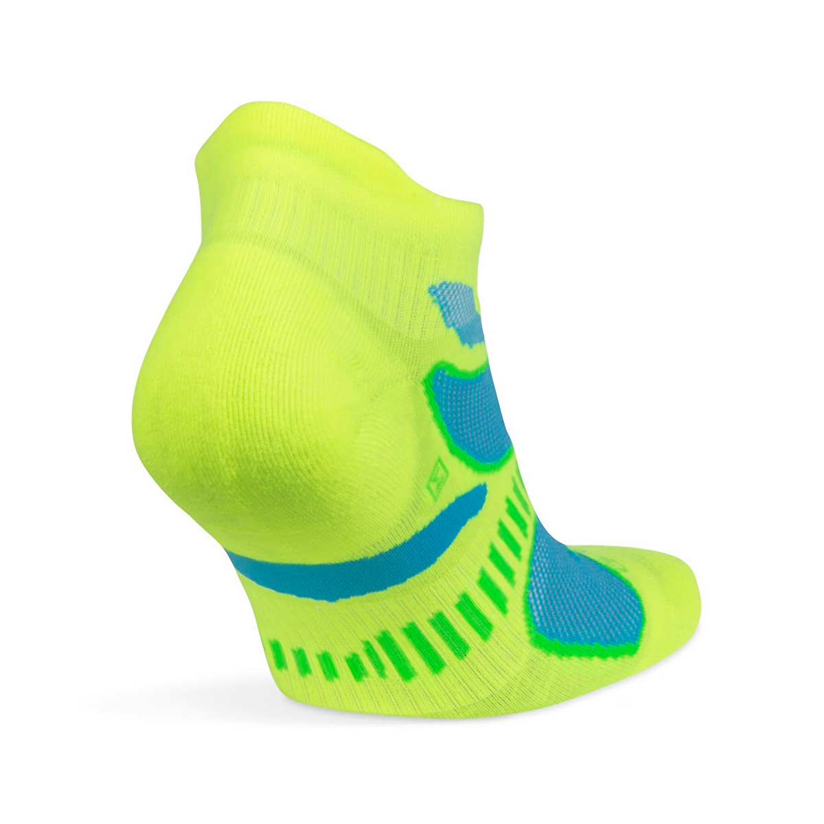 Balega Ultra Light No Show Tab Socks - Color: Neon Lime - Size: S, Neon Lime, large, image 3