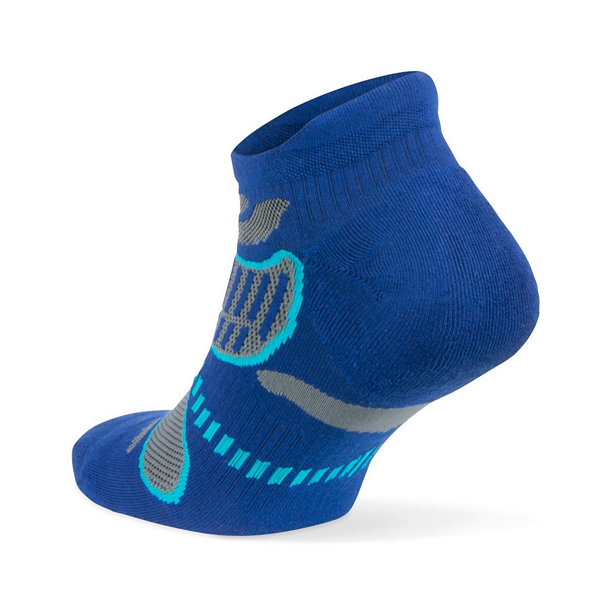Balega Ultra Light No Show Tab Socks - Color: Cobalt - Size: S, Cobalt, large, image 2