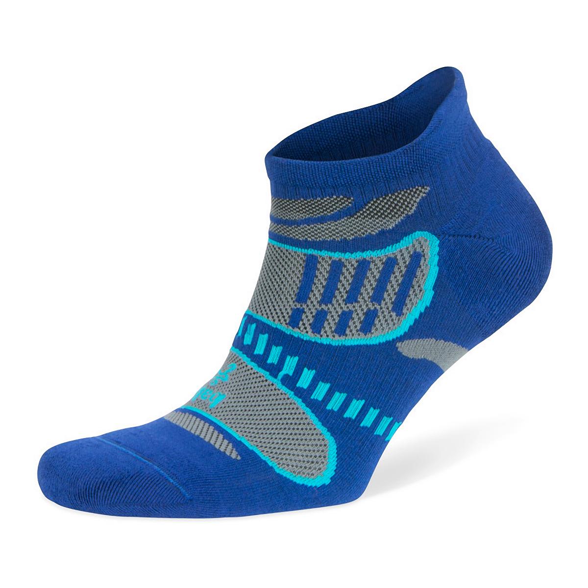 Balega Ultra Light No Show Tab Socks - Color: Cobalt - Size: S, Cobalt, large, image 3
