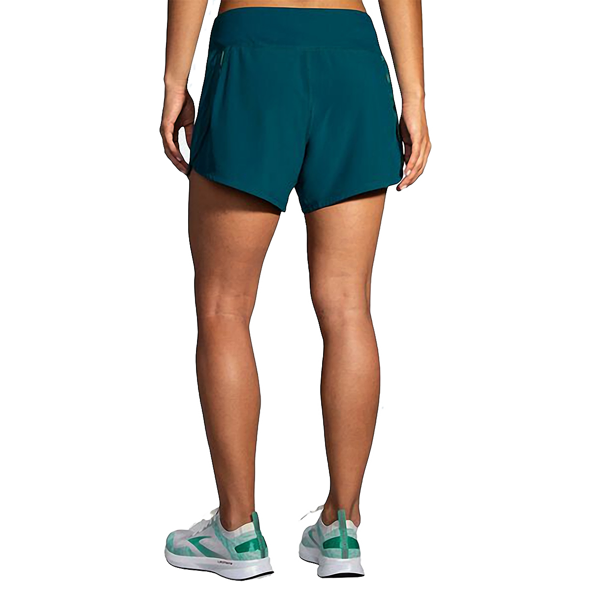 "Women's Brooks Chaser 5"" Short  - Color: Deep Sea - Size: S, Deep Sea, large, image 2"