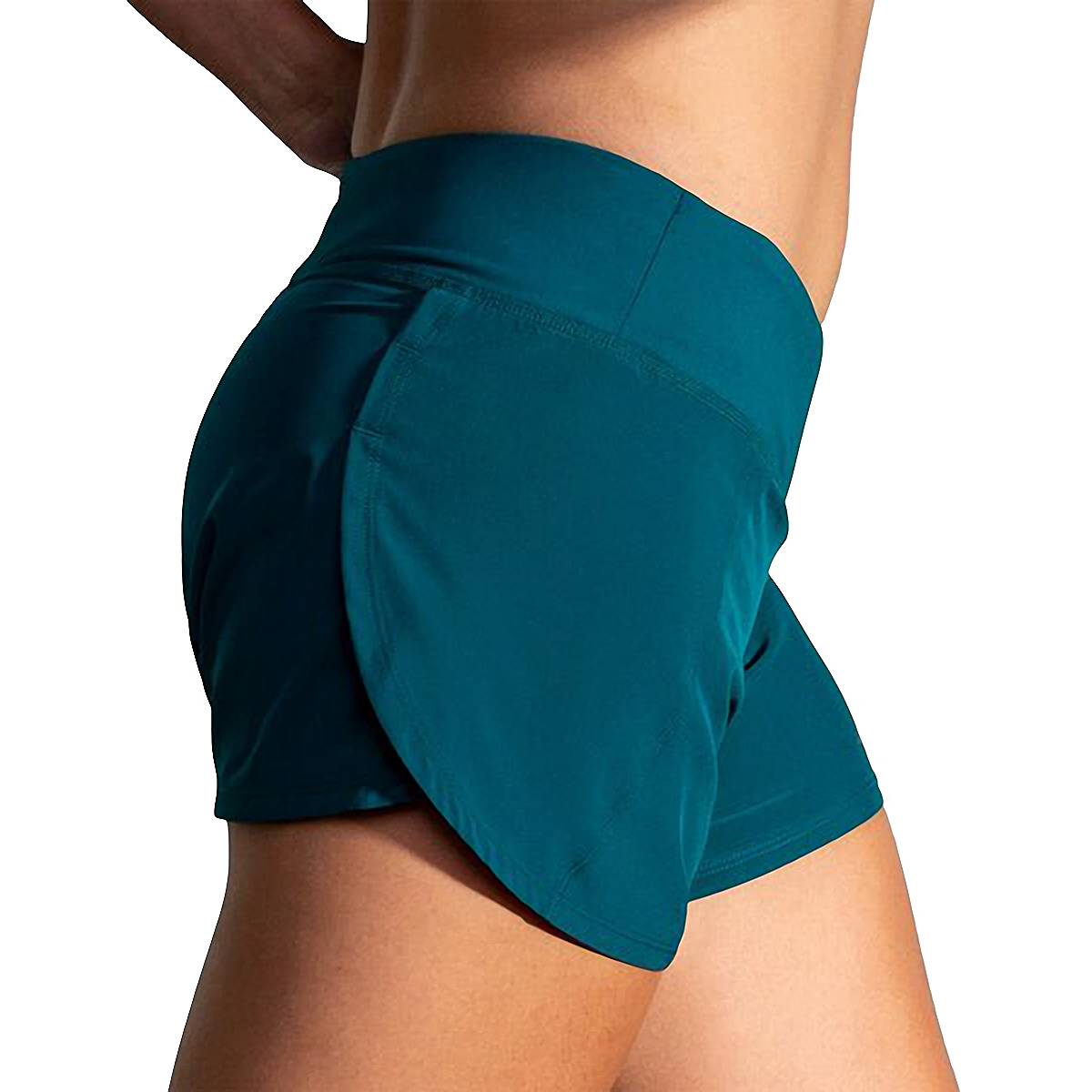 "Women's Brooks Chaser 5"" Short  - Color: Deep Sea - Size: S, Deep Sea, large, image 3"